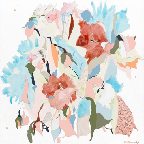 Paper Dasies Limited Edition Print
