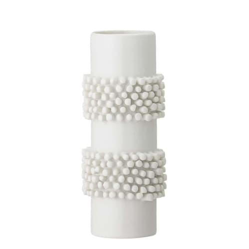 Stoneware Vase - White