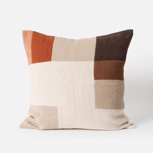 Orchard Cushion - Mulberry / Multi