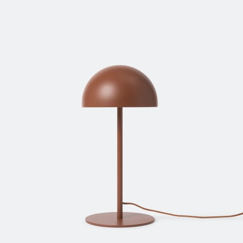 Dome Table Lamp - Brick