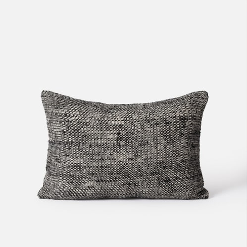 Freida Cushion - Black / Natural