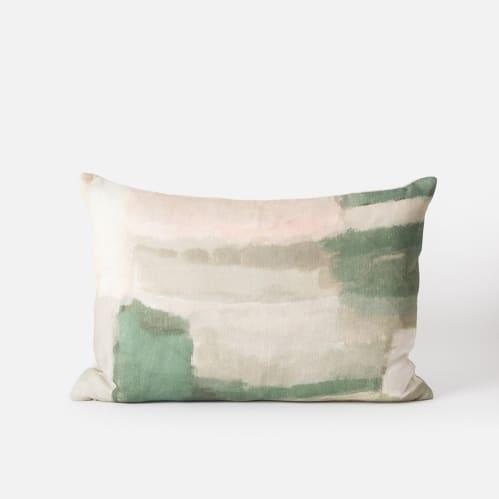 Thea Cushion - Pea / Multi