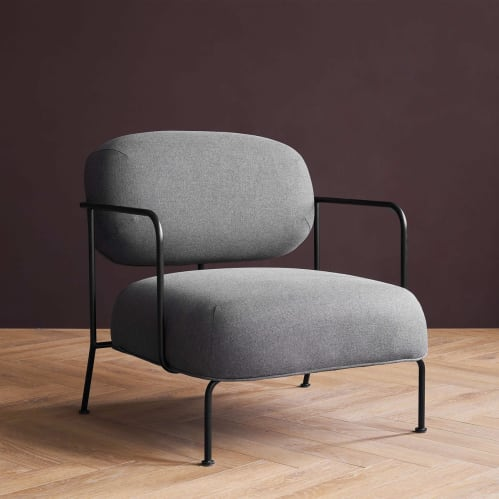 Beatles Lounge Chair - Dark Grey