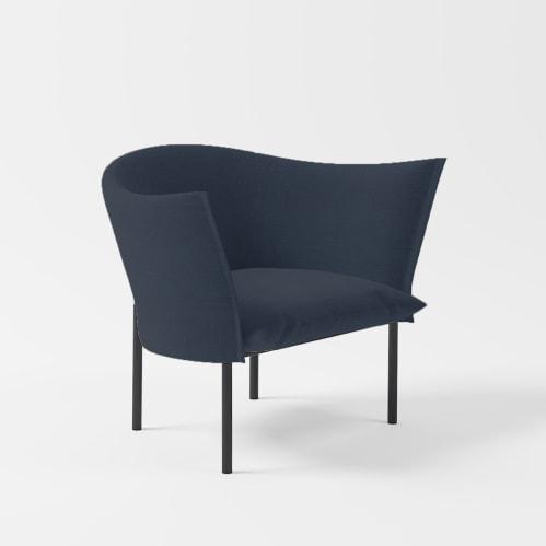 Lili Lounge Chair - Navy