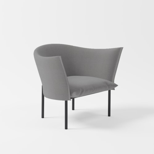 Lili Lounge Chair - Grey