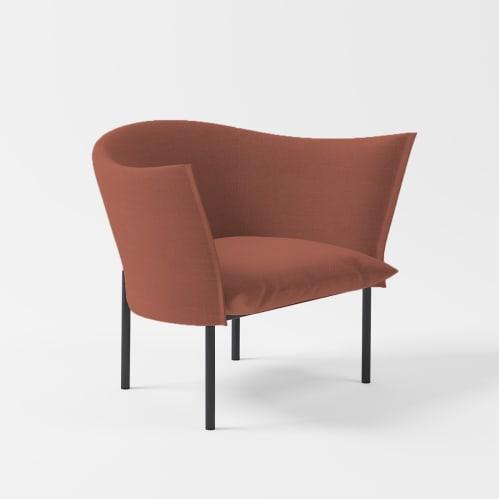 Lili Lounge Chair - Crimson