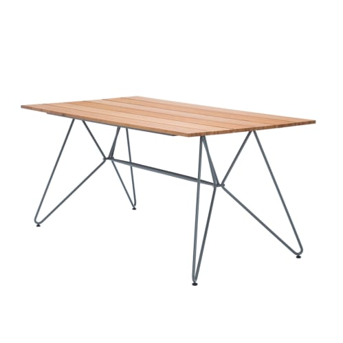 Sketch Outdoor Dining Table 220cm - Bamboo/Grey