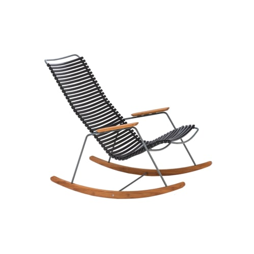 Click Outdoor Rocking Chair - Black