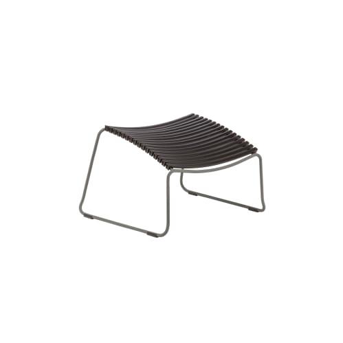 Click Outdoor Footrest -  Black