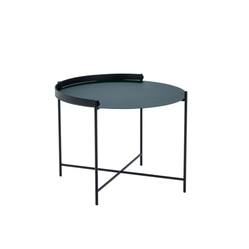 Edge Tray Side Table 46cm -  Pine Green