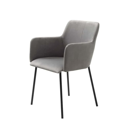 Set of 2 - Camellia Dining Chair - Grey