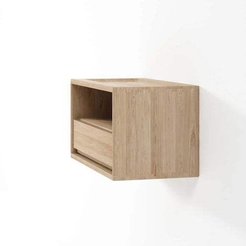 Circa Hanging Bedside Table - Oak