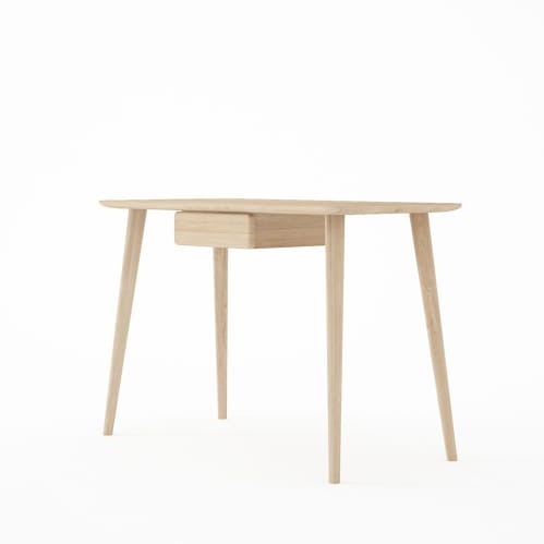 Domani Desk with Draw in European Oak