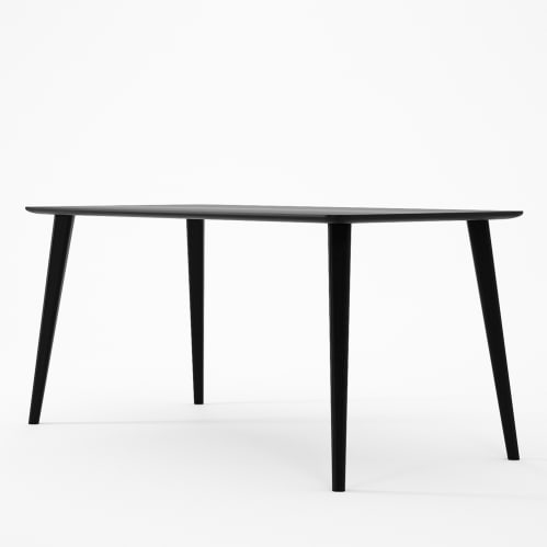 Domani Dining Table 160cm - Satin Black