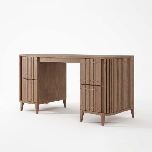 Koppar Desk - Teak