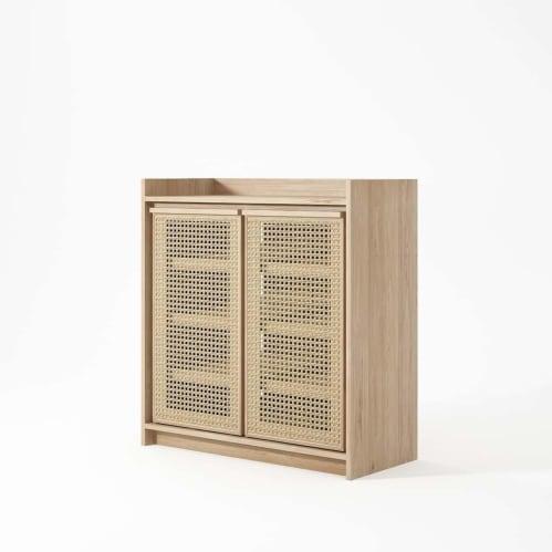 Roots Cabinet -Oak