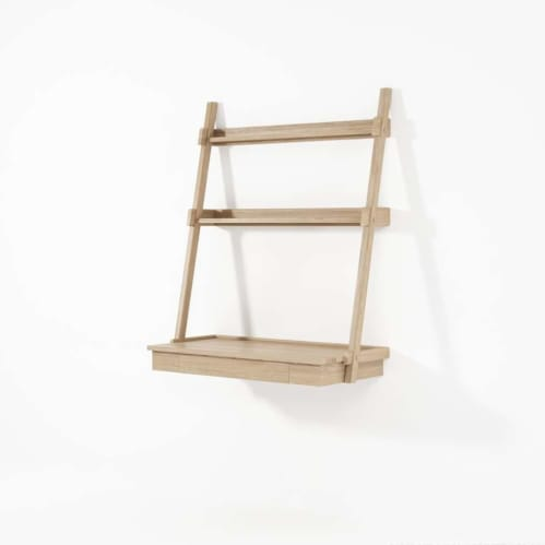 Simply City Hanging Desk - Oak