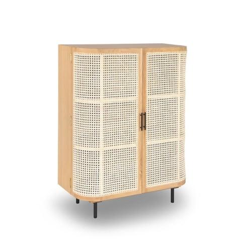 Embrace Rattan Cabinet - Oak