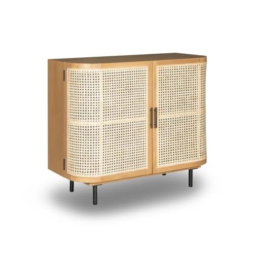 Embrace Rattan Sideboard 100cm - Oak