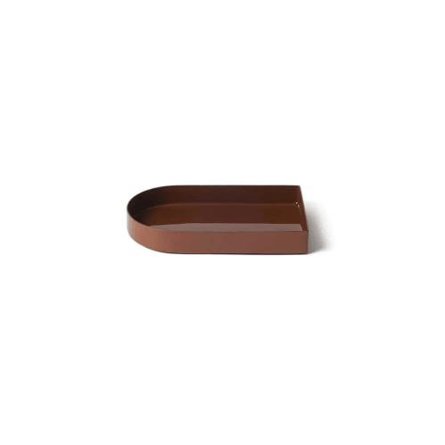 Arc Tray Small - Red Ochre