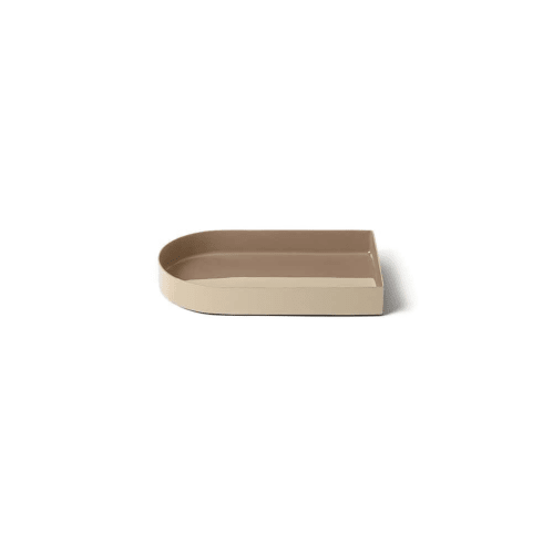 Arc Tray Small - Sand