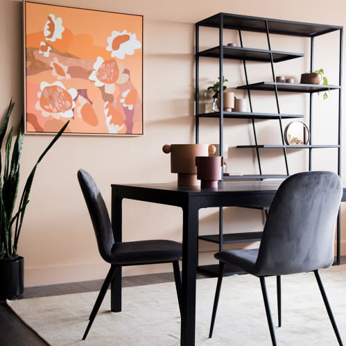 Alter Dining Chair - Vanity Velvet Grey 97