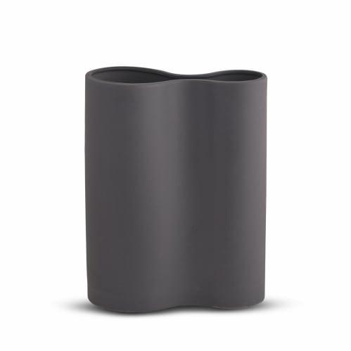 Smooth Infinity Vase Medium - Charcoal