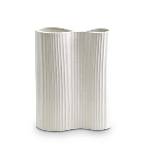 Infinity Vase Medium - Snow