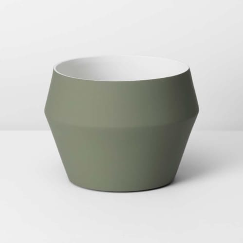Romo Medium Planter - Olive