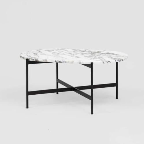 Rhonde Marble Coffee Table - Black