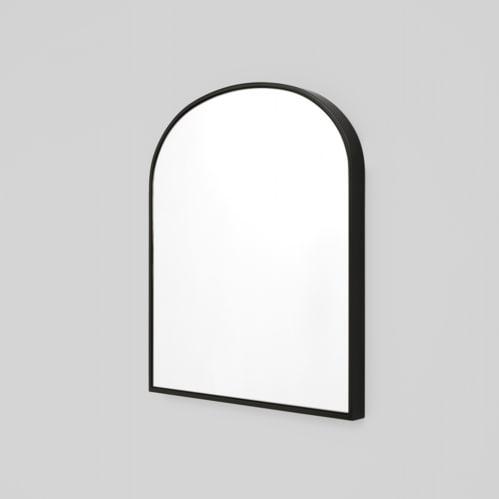 Bella Small Arch Mirror - Black