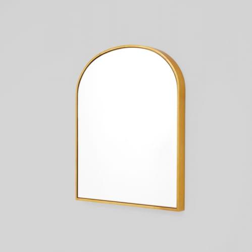 Bella Small Arch Mirror - Brass