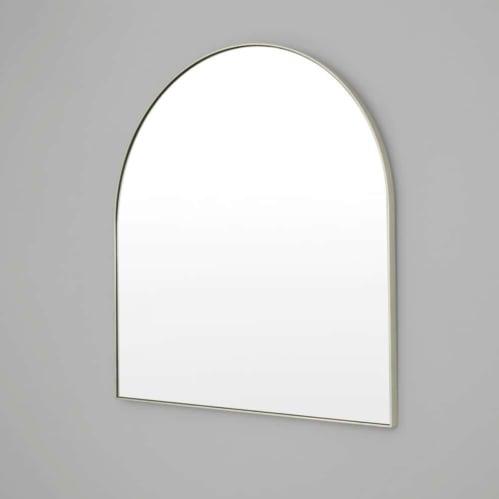 Bjorn Arch Mirror - Silver