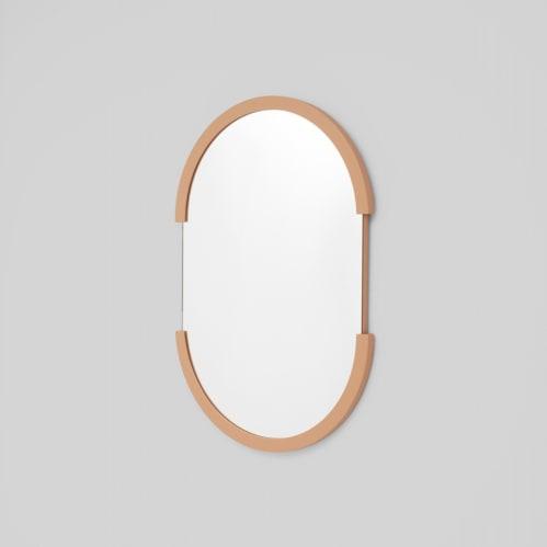 Dawn Oval Mirror - Desert