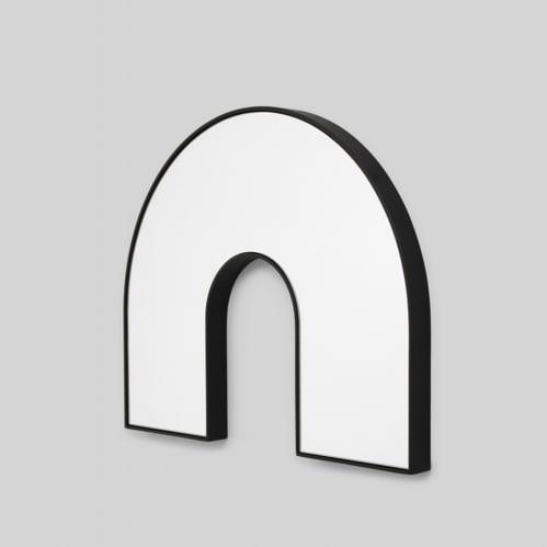 Kaari Arch Mirror - Black
