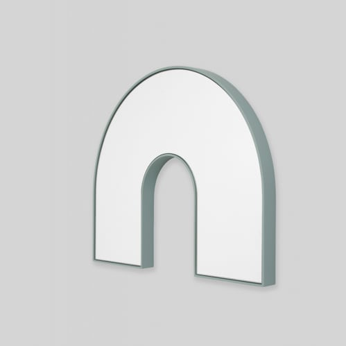 Kaari Arch Mirror - Blue