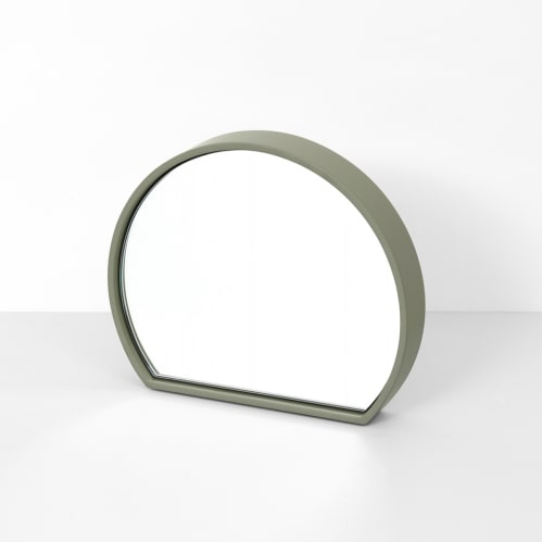 Objekt Mirror Large - Olive