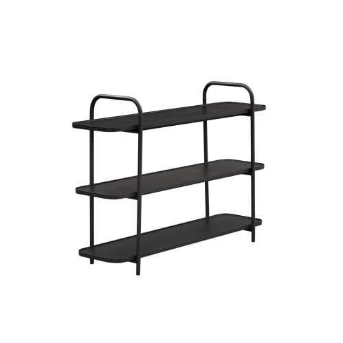 Camber Shelving Unit Small - Black