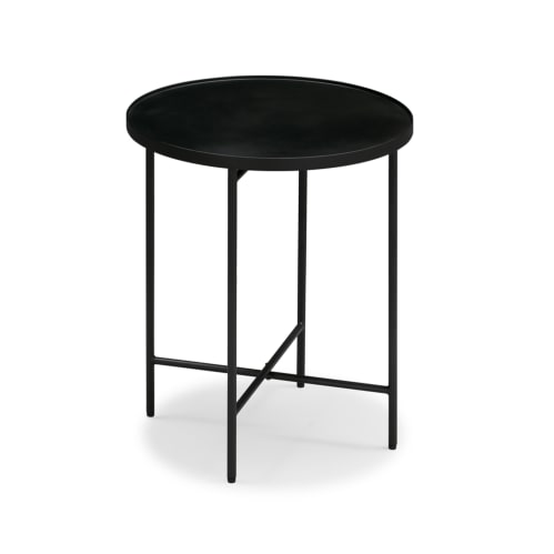 Passage Side Table - Black