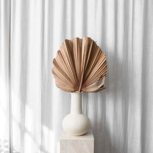 Flora Vase Large - Cream