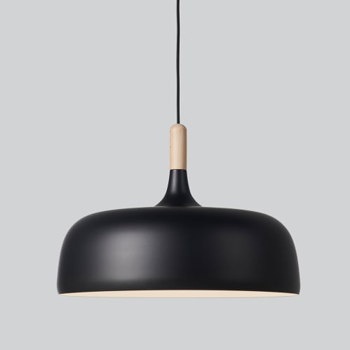 Acorn Pendant Light - Black