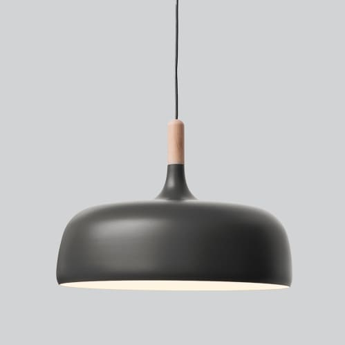 Acorn Pendant Light - Grey