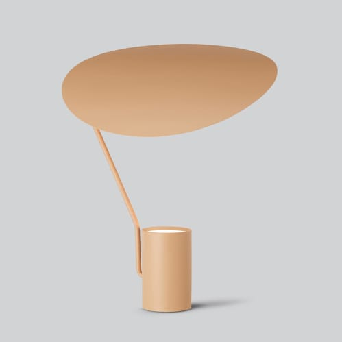 Ombre Table Lamp - Warm Beige