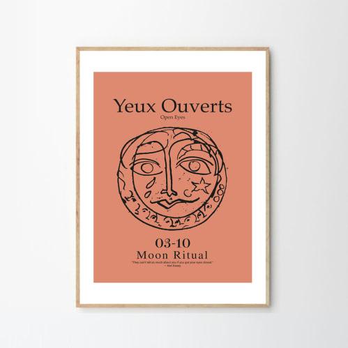 Yeux Print