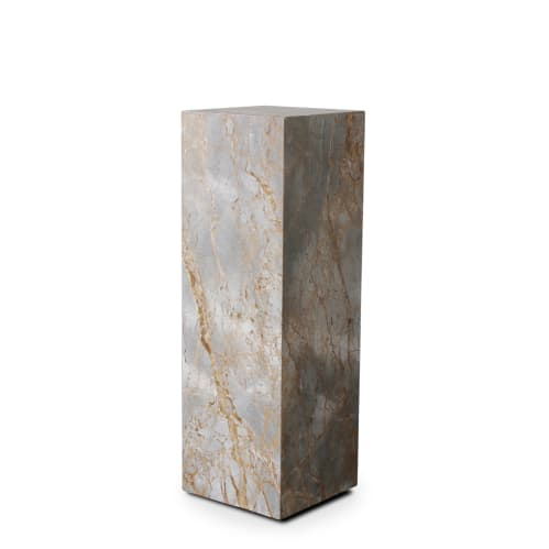 Stage Marble Plinth - Earth Marble
