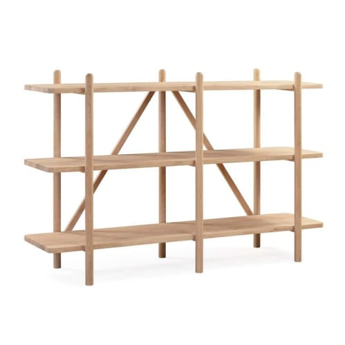 Essential Shelving Unit Oak - Small