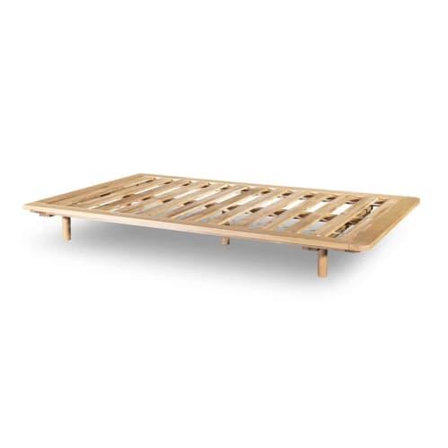 Serene King Single Bed Base - Oak