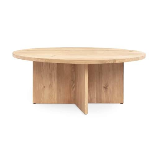 Edge Coffee Table - Oak