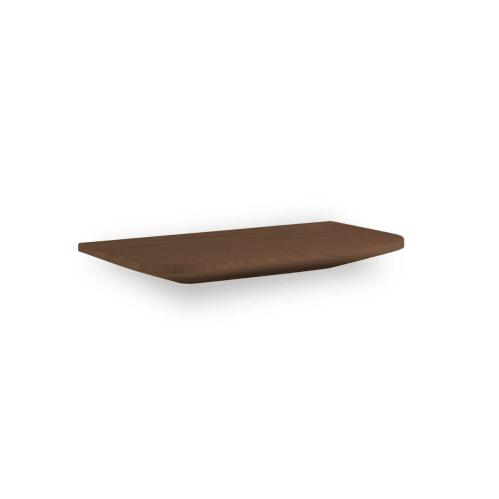 Light Wall Shelf 40cm - Walnut