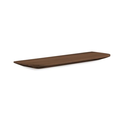 Light Wall Shelf 70cm - Walnut